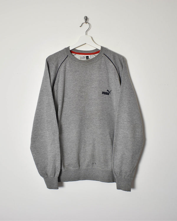 Puma Sweatshirt - Medium - Domno Vintage 90s, 80s, 00s Retro and Vintage Clothing