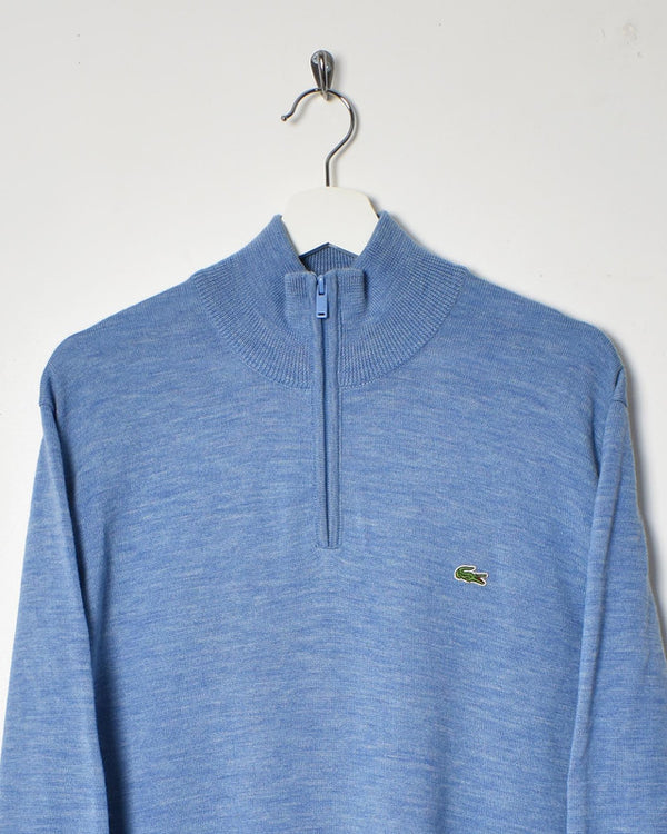 Lacoste 1/4 Zip Sweatshirt - Large - Domno Vintage 90s, 80s, 00s Retro and Vintage Clothing