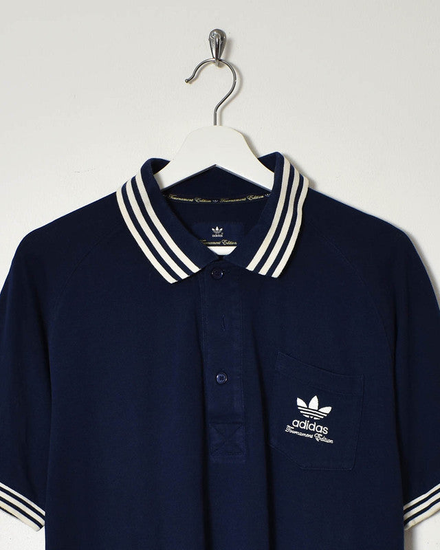 Adidas Polo Shirt - Large - Domno Vintage 90s, 80s, 00s Retro and Vintage Clothing