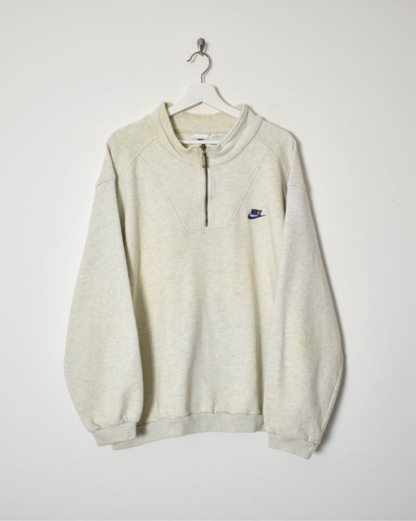 Nike 1/4 Zip Sweatshirt - X-Large