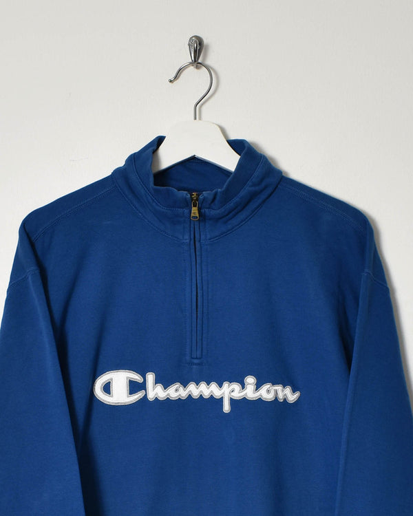 Champion 1/4 Zip Sweatshirt - X-Large