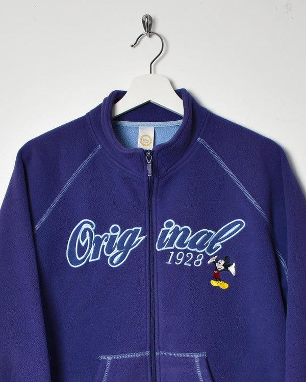 Disney Women's Fleece - Large - Domno Vintage 90s, 80s, 00s Retro and Vintage Clothing