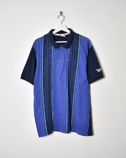 Reebok Polo Shirt - Large - Domno Vintage 90s, 80s, 00s Retro and Vintage Clothing