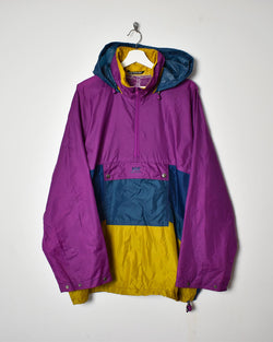 Helly Hansen 1/4 Zip Jacket - XX-Large - Domno Vintage 90s, 80s, 00s Retro and Vintage Clothing