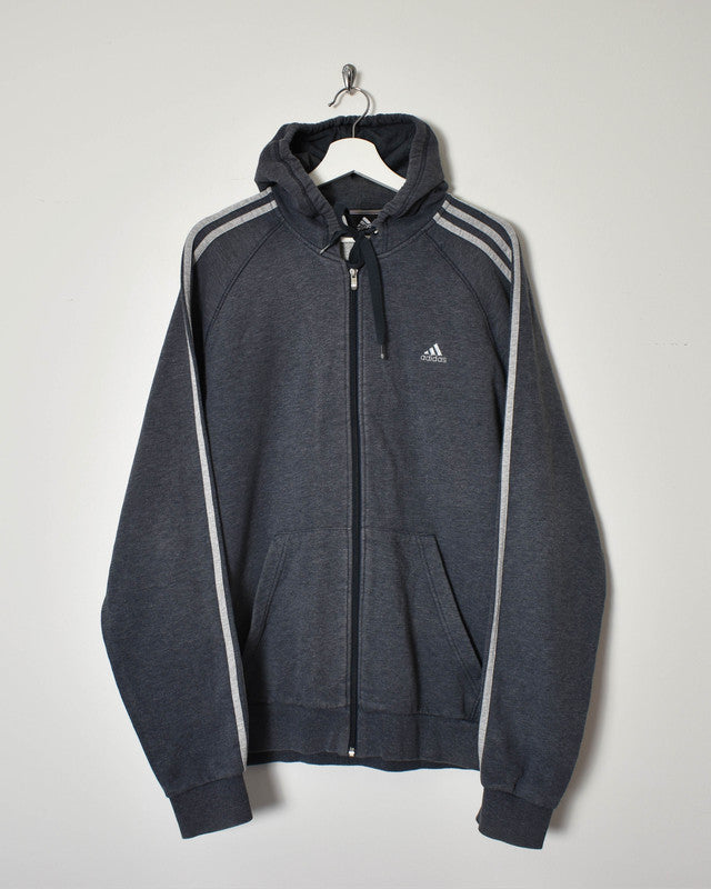 Adidas Hoodie - X-Large - Domno Vintage 90s, 80s, 00s Retro and Vintage Clothing