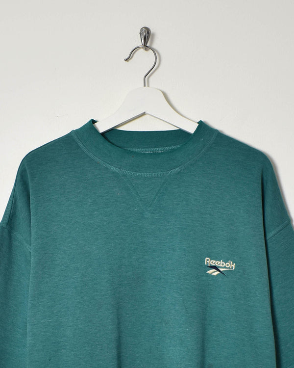 Reebok Sweatshirt - XX-Large - Domno Vintage 90s, 80s, 00s Retro and Vintage Clothing