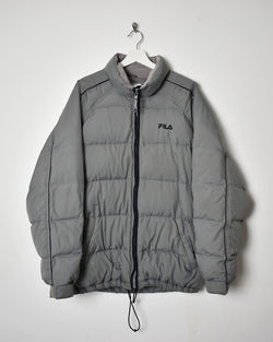 Fila Puffer Jacket - Large - Domno Vintage 90s, 80s, 00s Retro and Vintage Clothing
