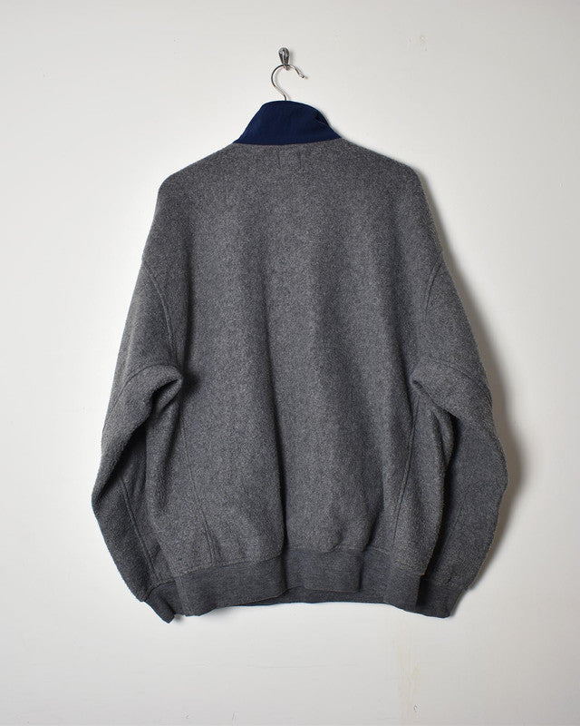 Gap 1/4 Zip Fleece - Large - Domno Vintage 90s, 80s, 00s Retro and Vintage Clothing