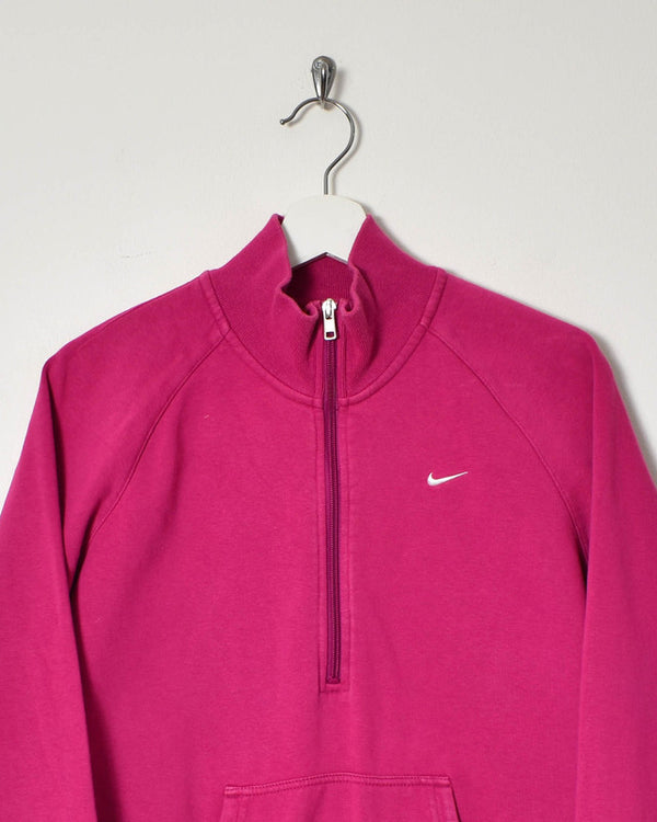 Nike 1/4 Zip Women's Sweatshirt - Large