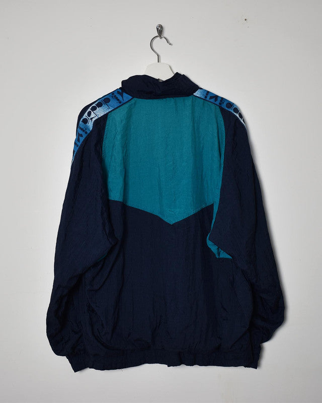 Diadora Shell Jacket - X-Large - Domno Vintage 90s, 80s, 00s Retro and Vintage Clothing