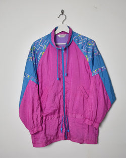 Vintage 90s Shell Jacket - Large - Domno Vintage 90s, 80s, 00s Retro and Vintage Clothing