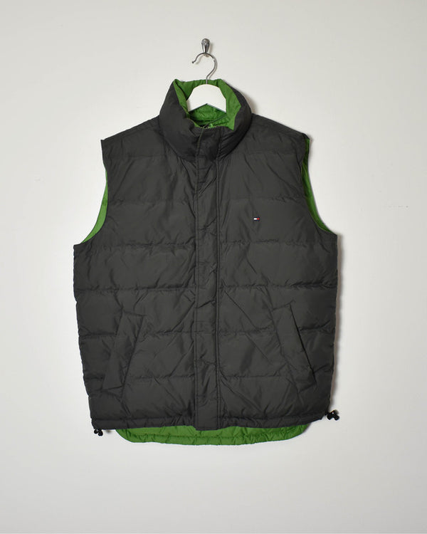 Tommy Hilfiger Reversible Gilet - Medium - Domno Vintage 90s, 80s, 00s Retro and Vintage Clothing