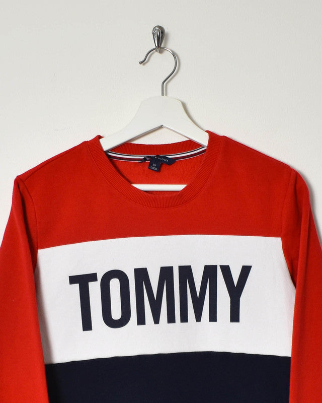 Tommy Hilfiger Sweatshirt - X-Small - Domno Vintage 90s, 80s, 00s Retro and Vintage Clothing