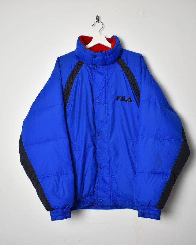 Fila Puffer Jacket - X-Large - Domno Vintage 90s, 80s, 00s Retro and Vintage Clothing