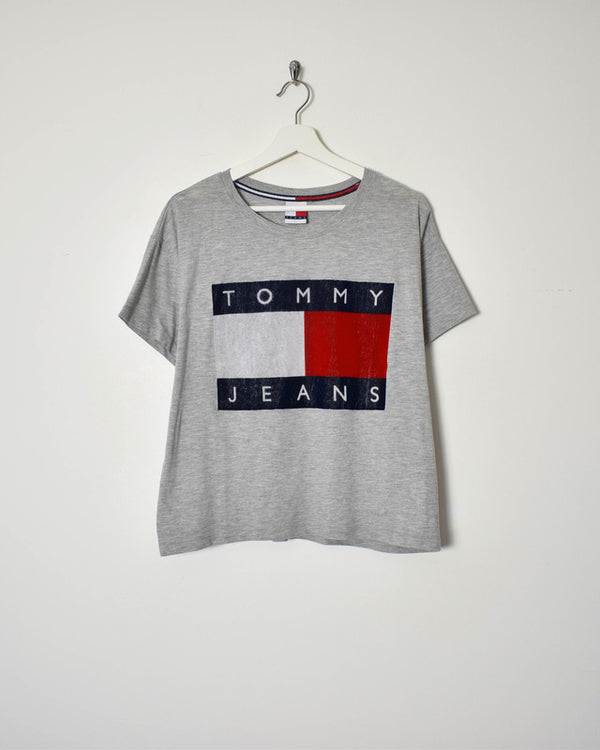 Tommy Hilfiger T-Shirt - Small - Domno Vintage 90s, 80s, 00s Retro and Vintage Clothing