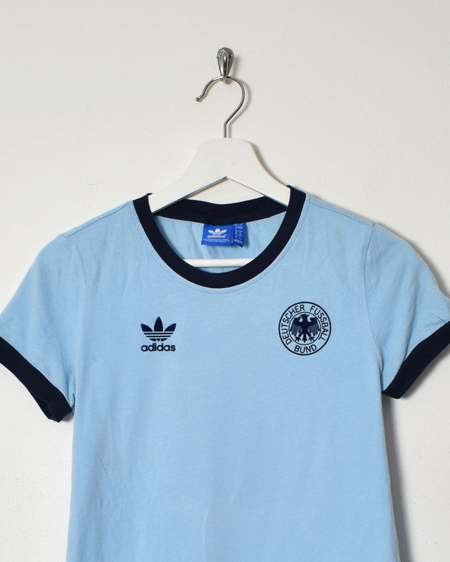 Adidas Women's T-Shirt - Small - Domno Vintage 90s, 80s, 00s Retro and Vintage Clothing