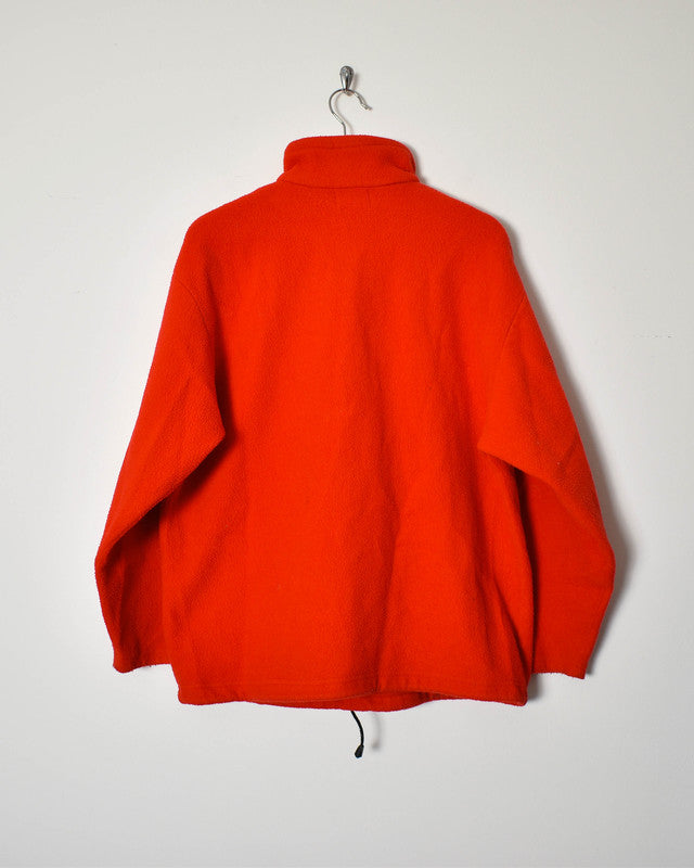 DKNY 1/4 Zip Fleece - Medium - Domno Vintage 90s, 80s, 00s Retro and Vintage Clothing