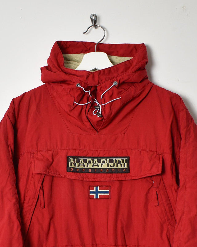 Napapijri Women's Rainforest Pullover Coat - Large