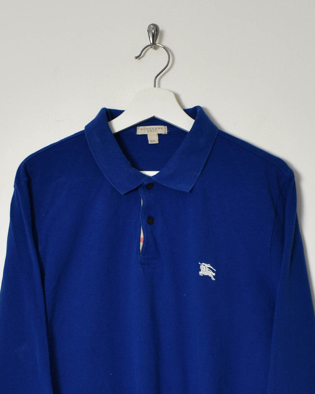 Burberry Longsleeve Polo Shirt - Large