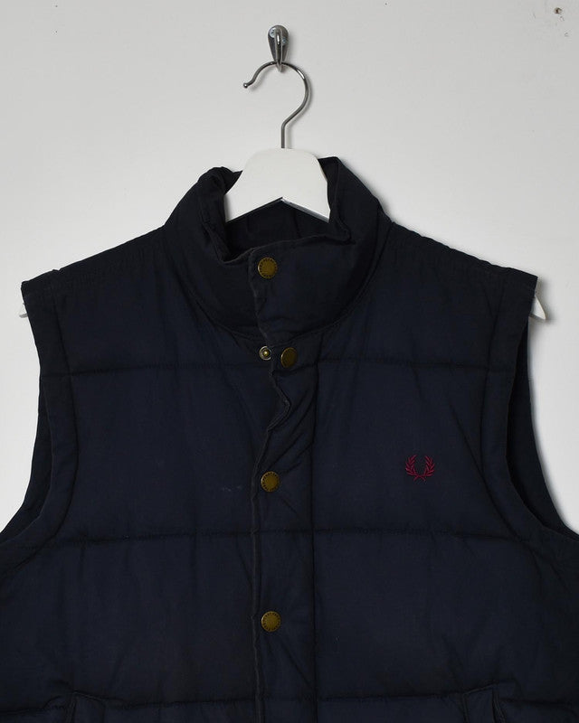 Fred Perry Gilet - Small - Domno Vintage 90s, 80s, 00s Retro and Vintage Clothing