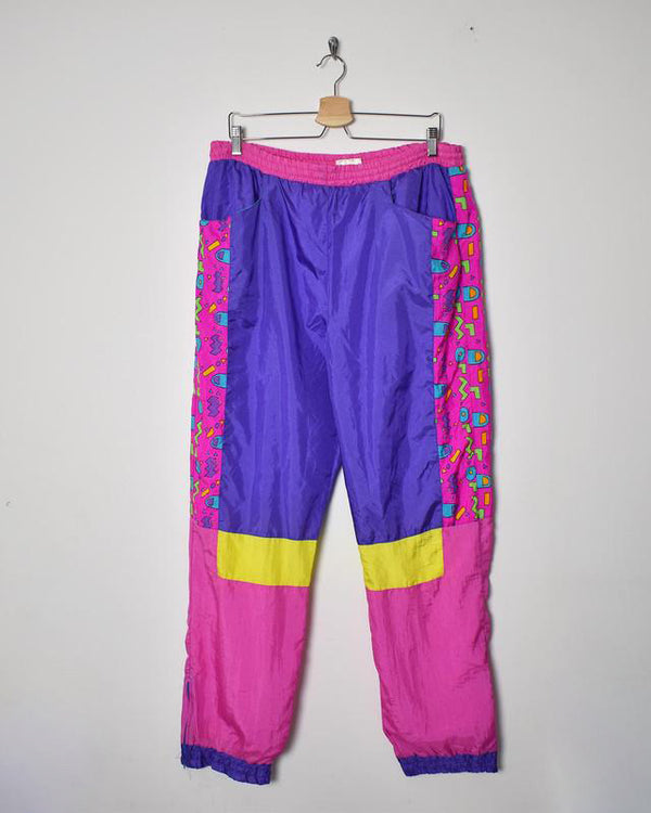 Vintage 90s Shell Trousers - Large