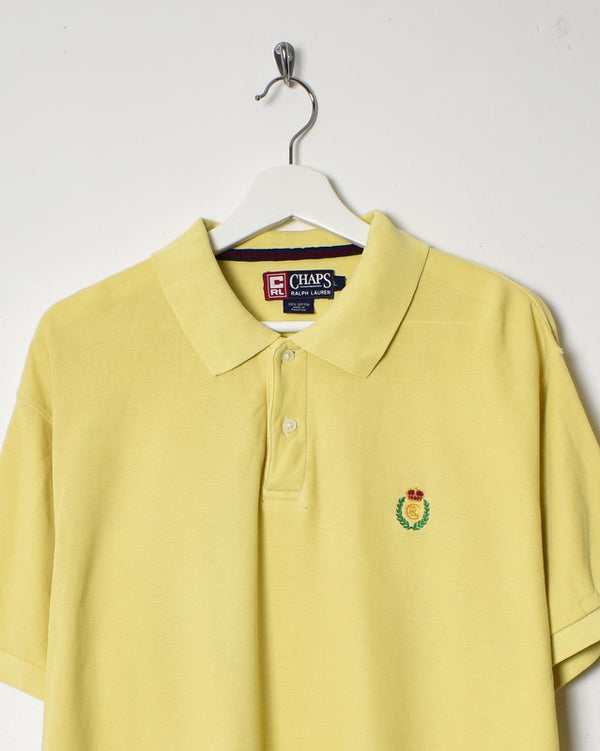 Chaps Ralph Lauren Polo Shirt - Large - Domno Vintage 90s, 80s, 00s Retro and Vintage Clothing