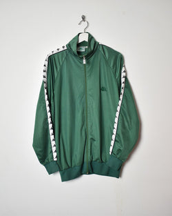 Kappa Tracksuit Top - X-Large - Domno Vintage 90s, 80s, 00s Retro and Vintage Clothing