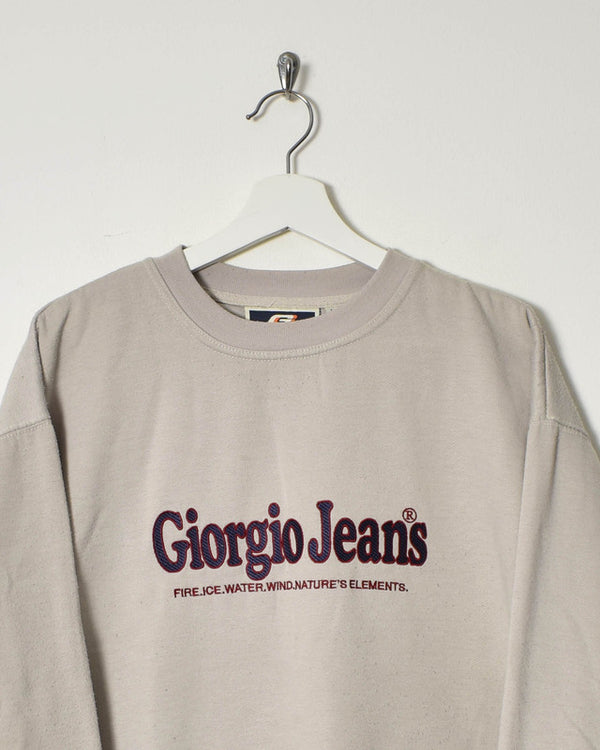 Giorgio Jeans Sweatshirt - Medium