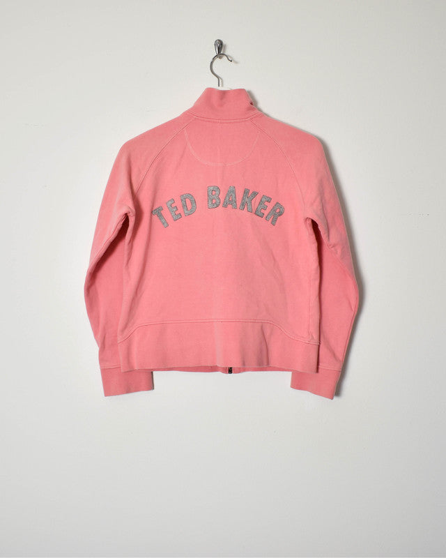 Ted Baker Women's Sweatshirt - Small - Domno Vintage 90s, 80s, 00s Retro and Vintage Clothing