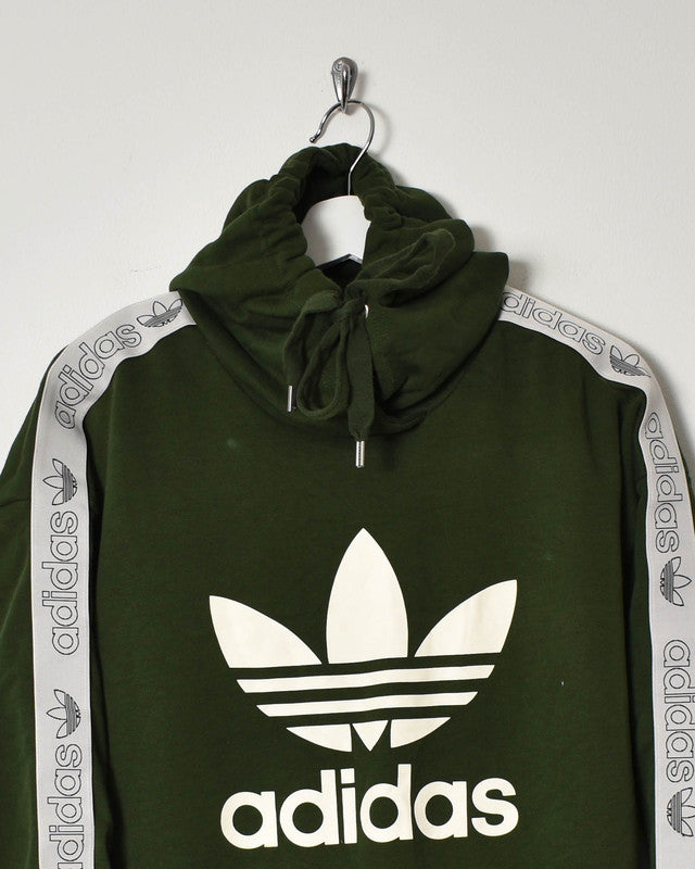 Adidas Women's Hoodie - Large - Domno Vintage 90s, 80s, 00s Retro and Vintage Clothing