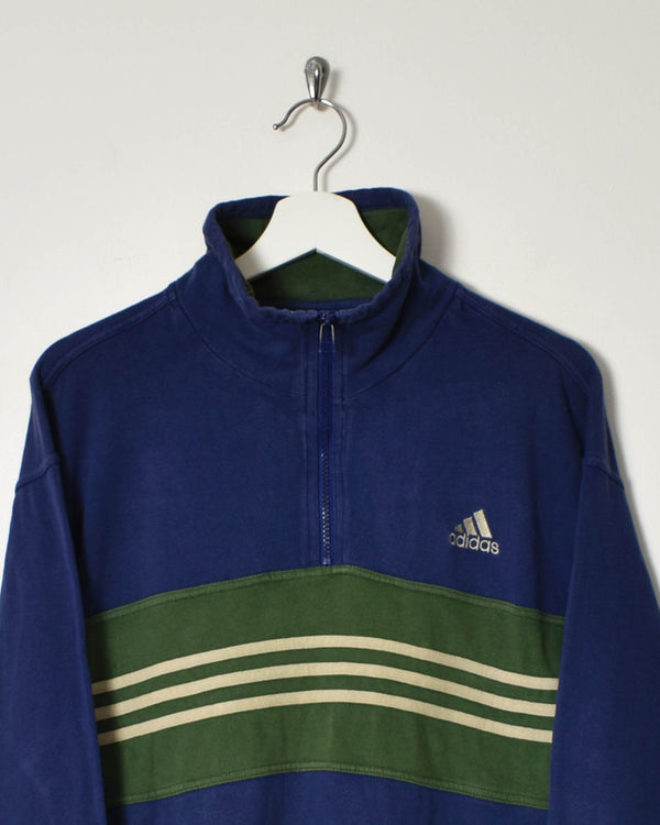 Adidas 1/4 Zip Sweatshirt - Small