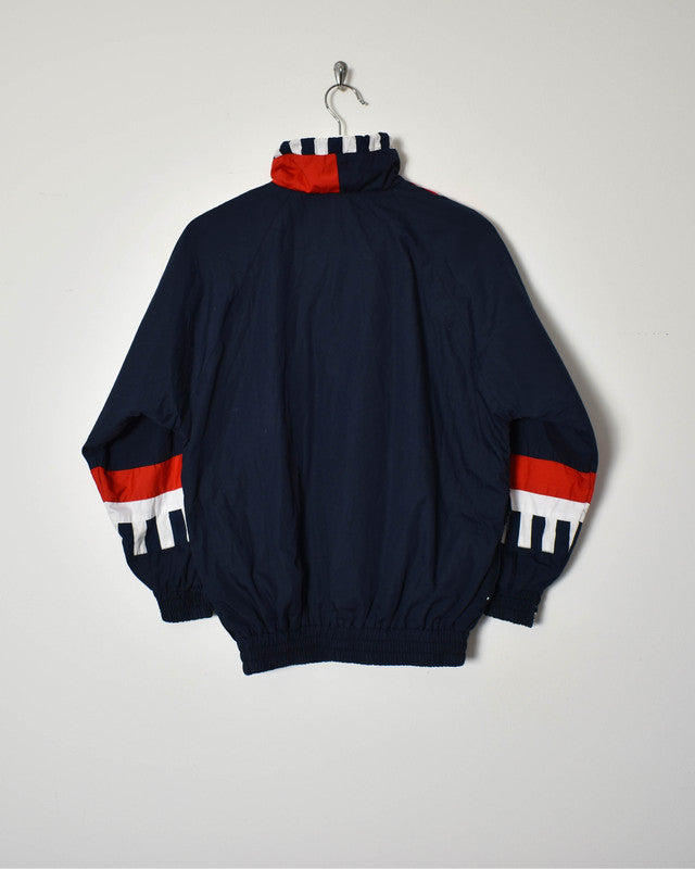Hummel 1/4 Zip Jacket - Small - Domno Vintage 90s, 80s, 00s Retro and Vintage Clothing
