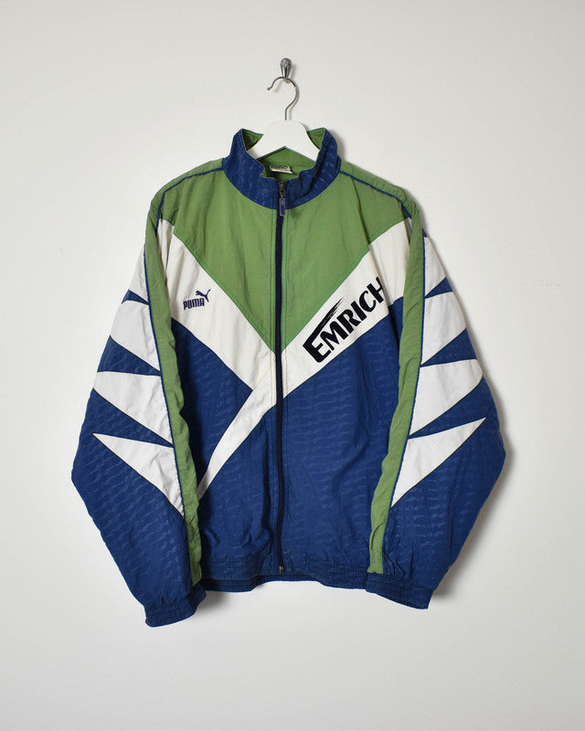 Puma Track Jacket - Large - Domno Vintage 90s, 80s, 00s Retro and Vintage Clothing
