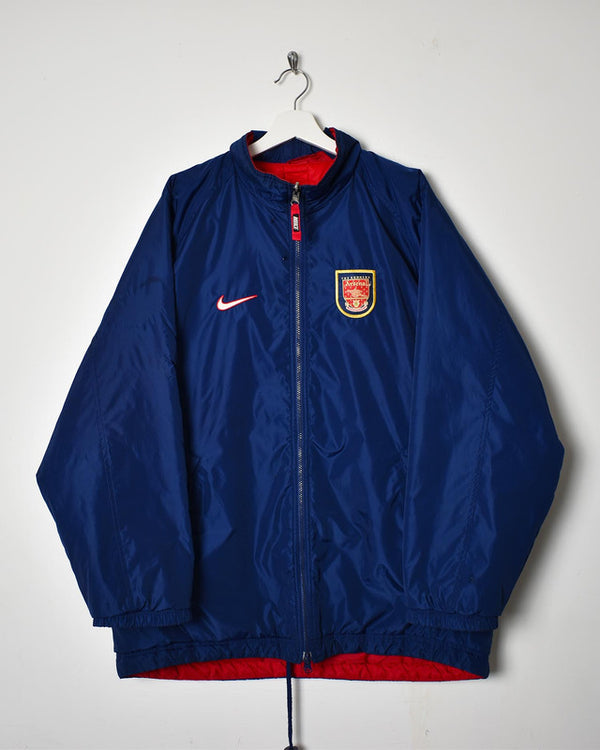 Nike Arsenal 90s Reversible Coat - Large