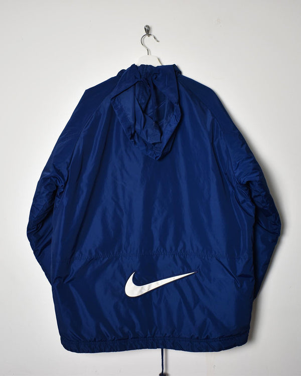 Nike Arsenal 90s Reversible Coat - Large - Domno Vintage 90s, 80s, 00s Retro and Vintage Clothing