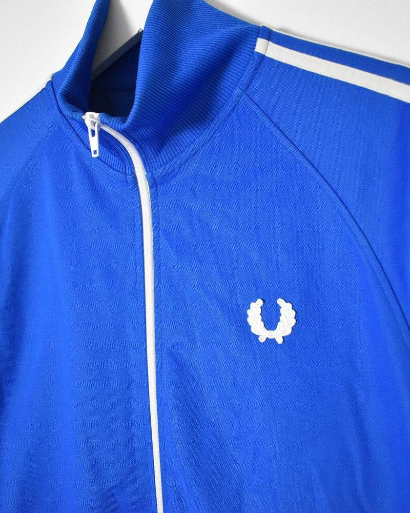 Fred Perry Tracksuit Top - Medium - Domno Vintage 90s, 80s, 00s Retro and Vintage Clothing
