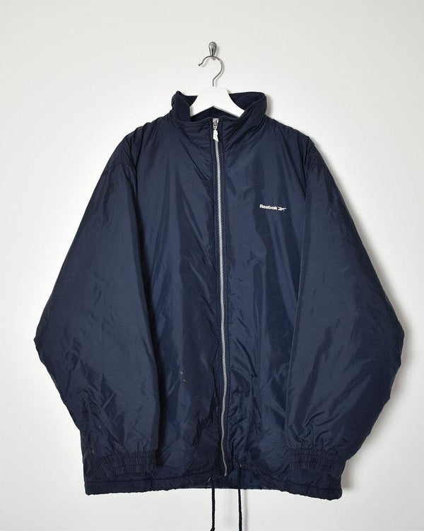 Reebok Padded Jacket - Large - Domno Vintage 90s, 80s, 00s Retro and Vintage Clothing