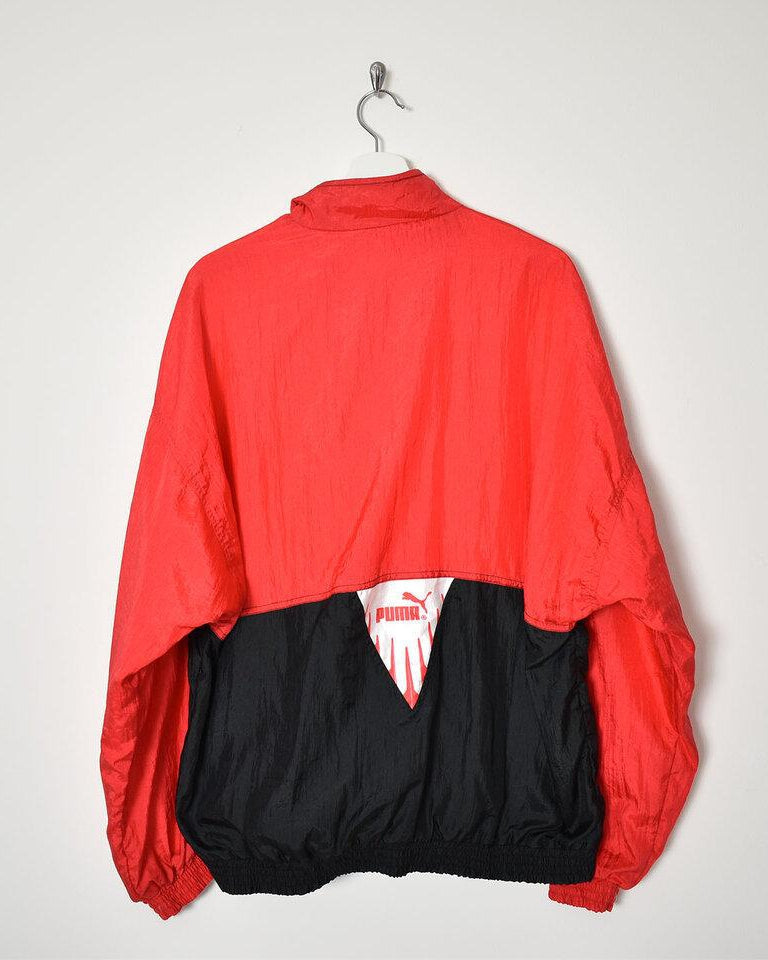 Puma Shell Jacket - Large - Domno Vintage 90s, 80s, 00s Retro and Vintage Clothing