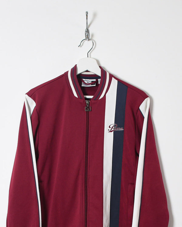 Puma Tracksuit Top - Small - Domno Vintage