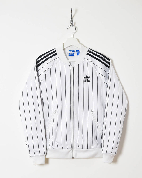 Adidas Women's Tracksuit Top - Medium - Domno Vintage