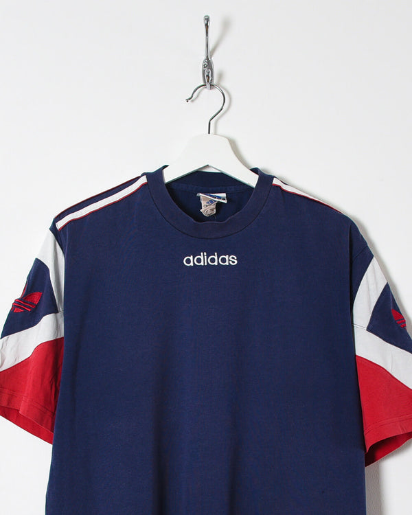 Adidas T-Shirt - Large - Domno Vintage 90s, 80s, 00s Retro and Vintage Clothing