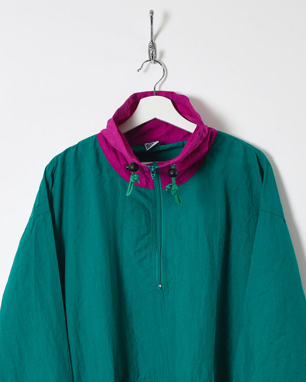 Vintage 90s 1/4 Zip Shell Jacket - X-Large
