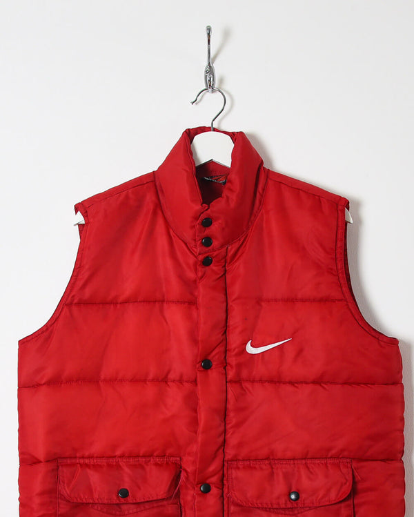 Bootleg Nike Body Warmer Gillet - Medium - Domno Vintage