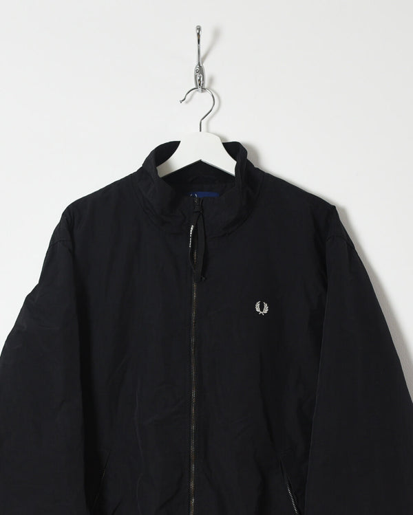 Fred Perry Fleece Lined Jacket - Large - Domno Vintage