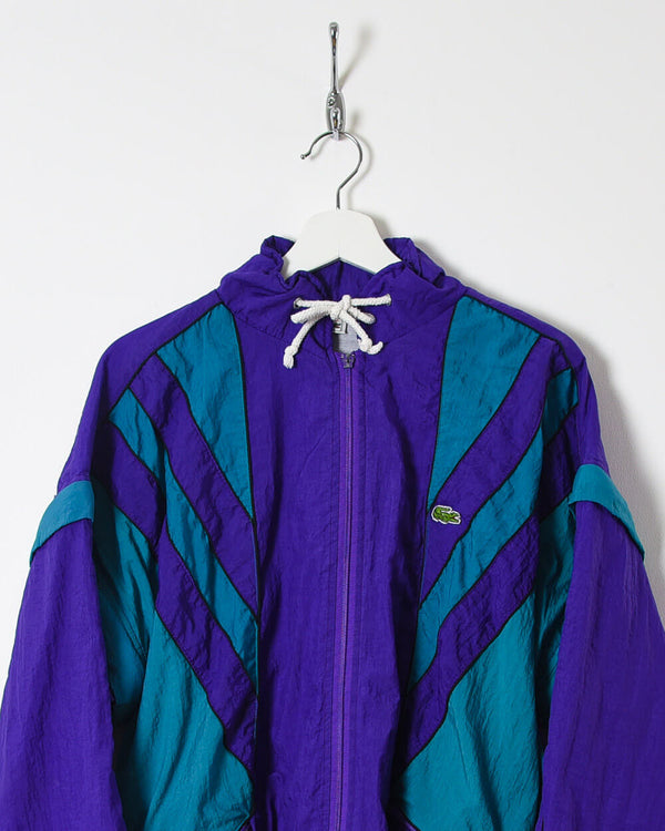 Lacoste Shell Jacket - Medium - Domno Vintage