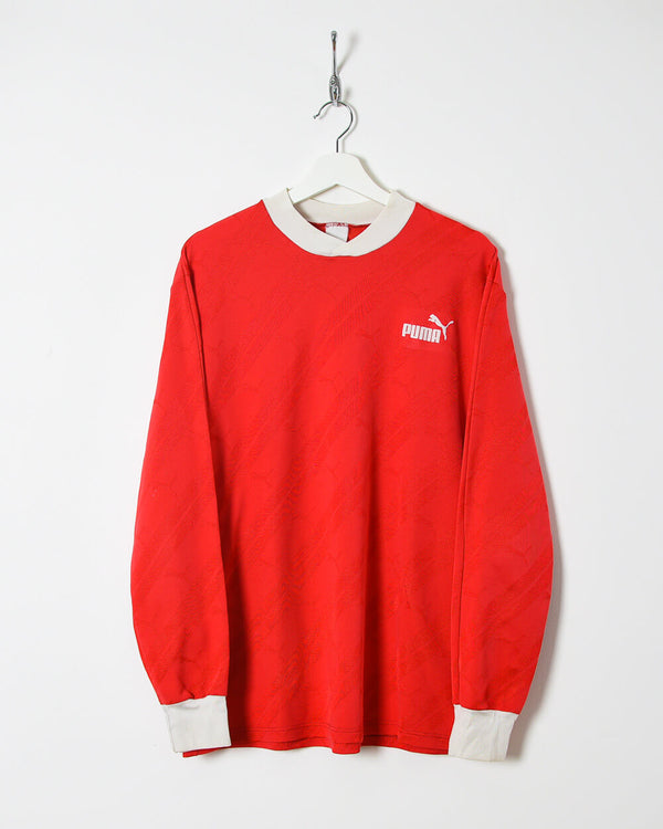 Puma Long Sleeved T-Shirt - X-Large - Domno Vintage 90s, 80s, 00s Retro and Vintage Clothing