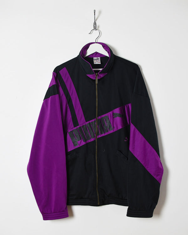 Puma Tracksuit Top - X-Large - Domno Vintage