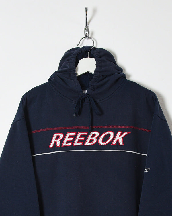 Reebok Hoodie - X-Large - Domno Vintage 90s, 80s, 00s Retro and Vintage Clothing