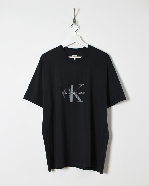 Calvin Klein T-Shirt - XX-Large - Domno Vintage 90s, 80s, 00s Retro and Vintage Clothing