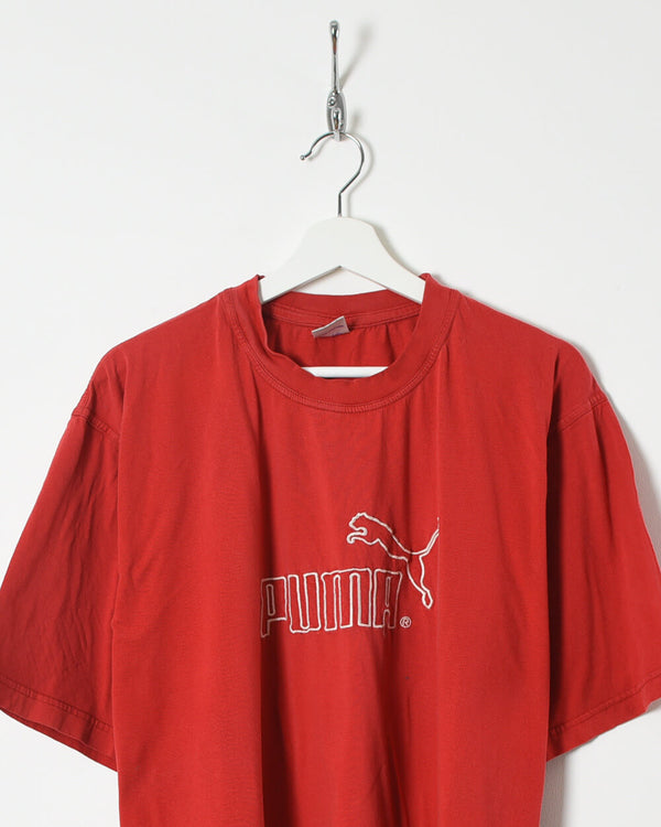 Bootleg Puma T-Shirt - X-Large - Domno Vintage 90s, 80s, 00s Retro and Vintage Clothing